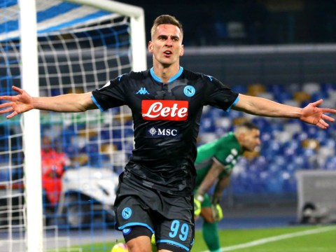Manchester United consider move for Napoli's Arkadiusz Milik after missing out on Erling Haaland