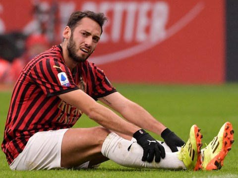 Arsenal consider loan bid for AC Milan midfielder Hakan Calhanoglu