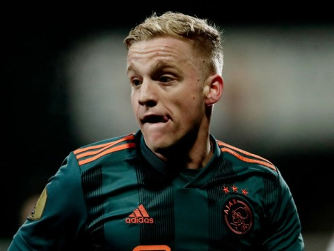 Manchester United confident of January transfer deal for Donny van de Beek