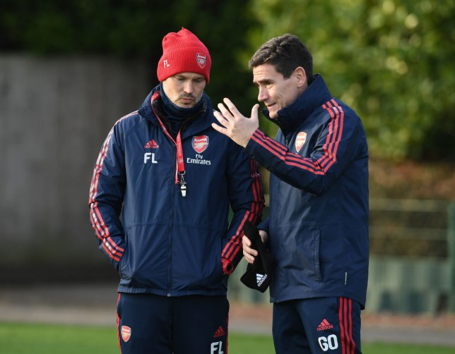 Liverpool have poached Gary O'Driscoll from Arsenal
