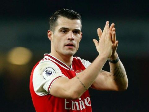 Mikel Arteta confirms Granit Xhaka will stay at Arsenal and gushes over midfielder