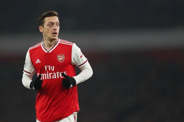 Mesut Ozil has been reinvigorated under Mikel Arteta (Picture: Getty Images)
