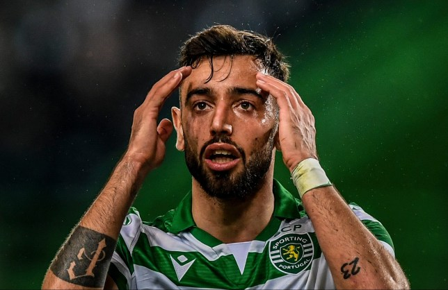 Bruno Fernandes is a target for Manchester United