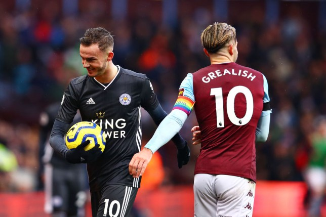James Maddison and Jack Grealish are both on Manchester United's radar