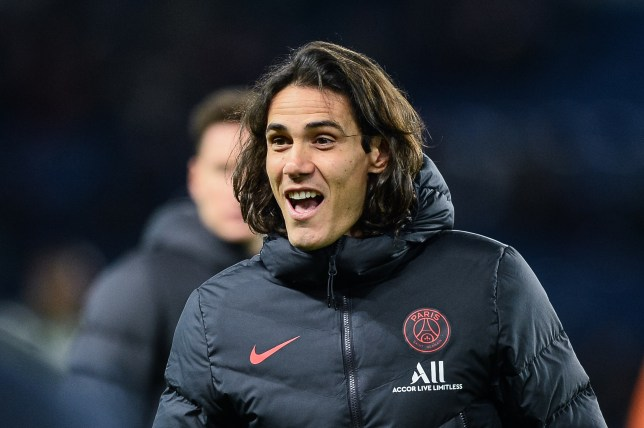 Chelsea are in discussions to sign Edinson Cavani from PSG