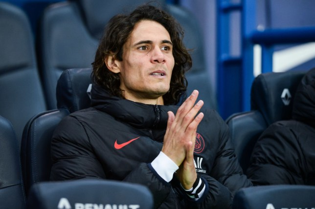 Manchester United have been offered the chance to sign PSG striker Edinson Cavani