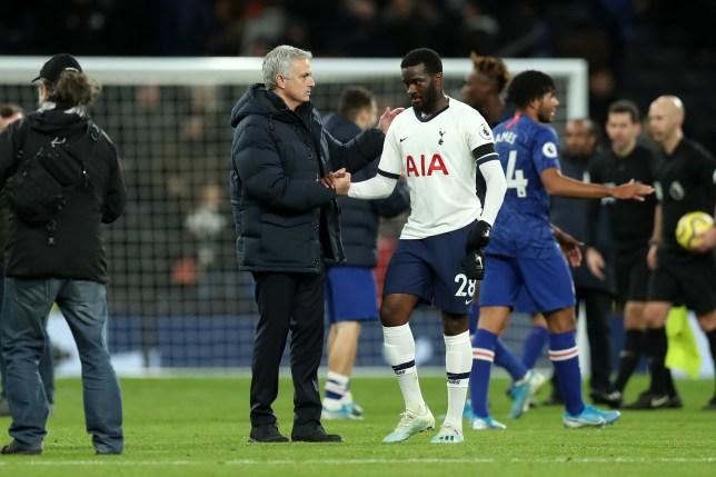 Jose Mourinho has used Tanguy Ndombele sparingly at Tottenham