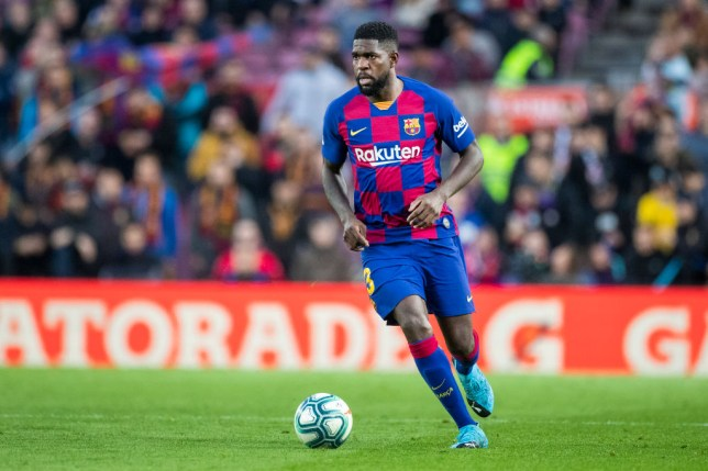 Samuel Umtiti has been put up for sale (Picture: Getty)