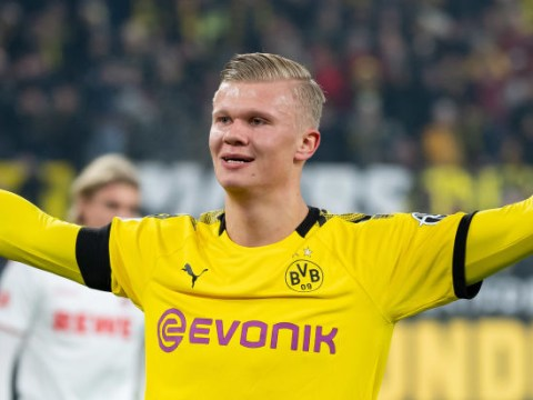 Erling Haaland has a release clause of just £63m at Borussia Dortmund but it cannot be triggered yet