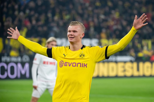 Erling Haaland Has Dortmund Release Clause Of Just 63m Can T Be Triggered Yet Metro News