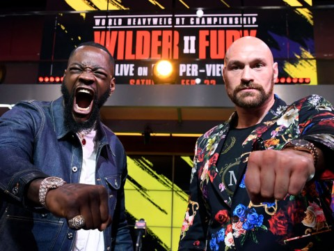 Tyson Fury predicts early knockout victory over Deontay Wilder in February rematch