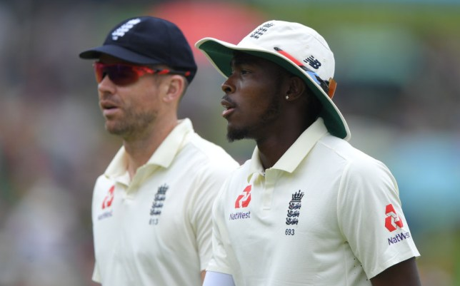 Jofra Archer has been backed to step up after James Anderson's injury setback