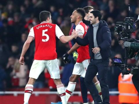 Arsenal's fighting spirit has grown since Mikel Arteta replaced Unai Emery as manager, believes Sokratis