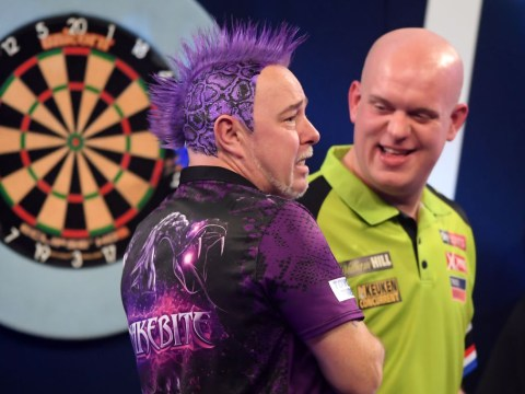 Michael van Gerwen sends classy message to Peter Wright after PDC World Darts Championship defeat