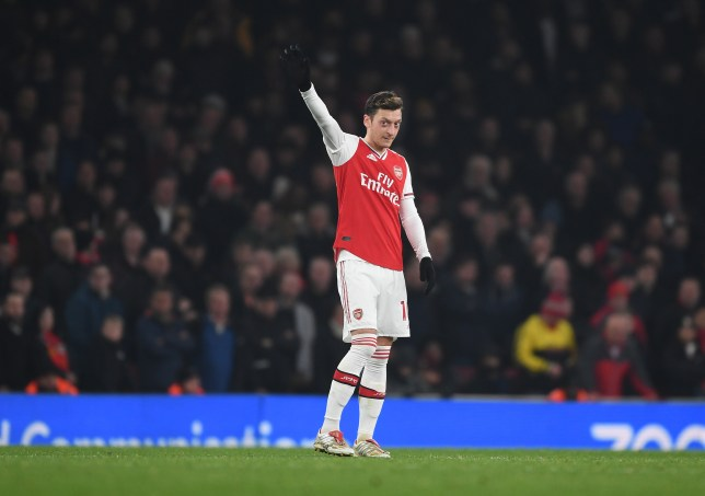 Mesut Ozil impressed as Arsenal swept aside Manchester United in the Premier League