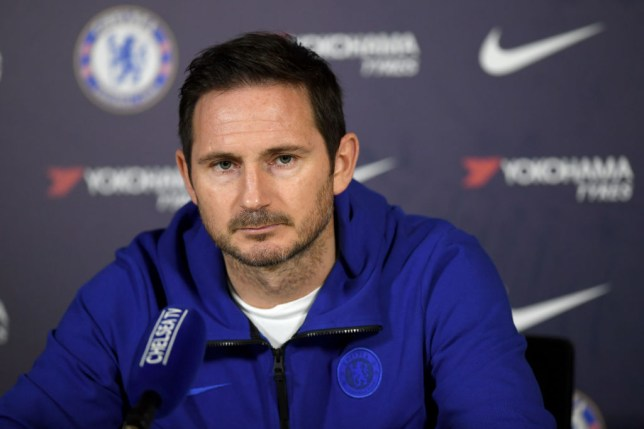 Frank Lampard's Chelsea lost to Premier League top-four rivals Man Utd on Monday