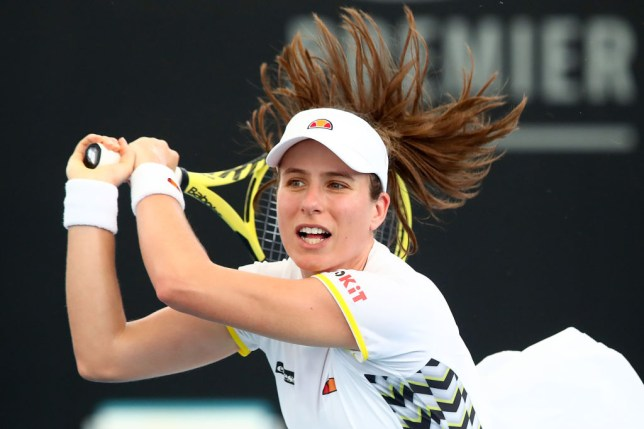 Great Britain Fed Cup Finals hopes dealt blow as Johanna Konta pulls out