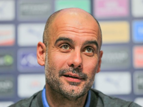 Man City boss Pep Guardiola insists he will never manage 'struggling' Manchester United
