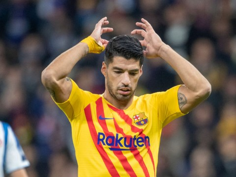 Barcelona striker Luis Suarez to miss four months of action after knee surgery