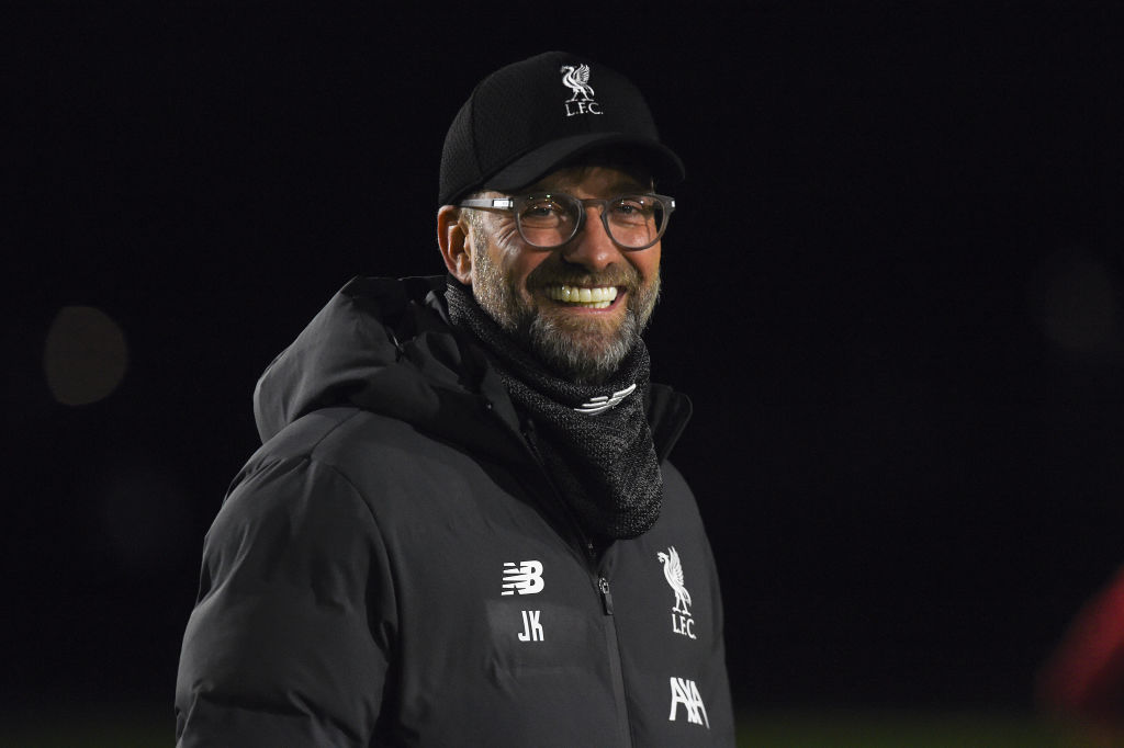 "Liverpool Not Thinking About ""invincibles'' Repeat, Klopp Says"