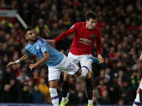 Manchester United hero Darren Fletcher slams Victor Lindelof's work-rate against Man City