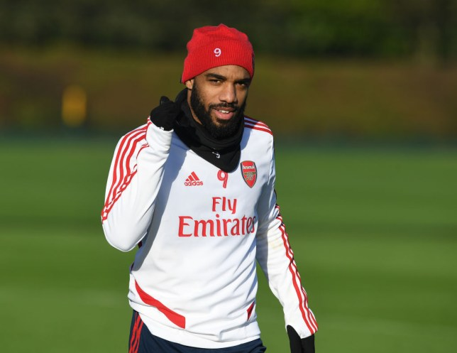 Alexandre Lacazette has gone six Arsenal matches without a goal