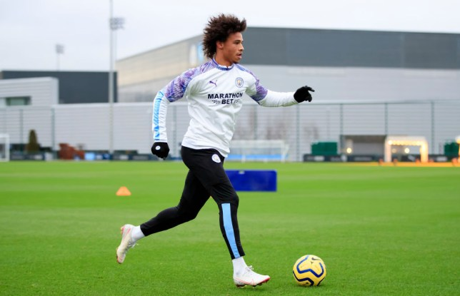 Leroy Sane is still torn over his Manchester City future