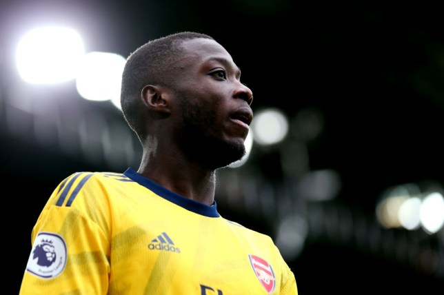 Nicolas Pepe joined Arsenal in a club-record deal worth more than £70m