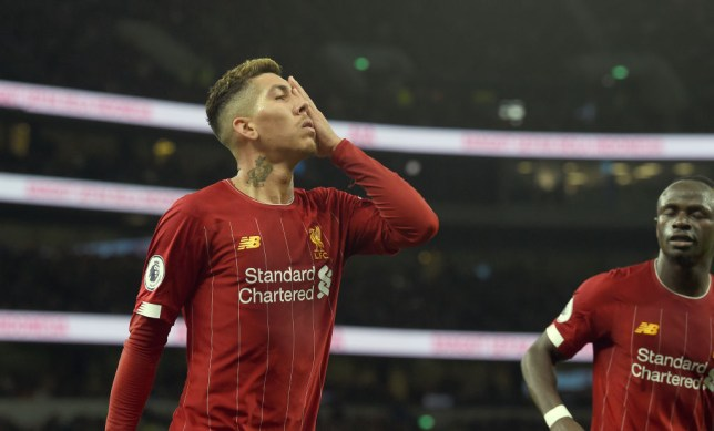 Roberto Firmino scored the only goal as Liverpool beat Tottenham