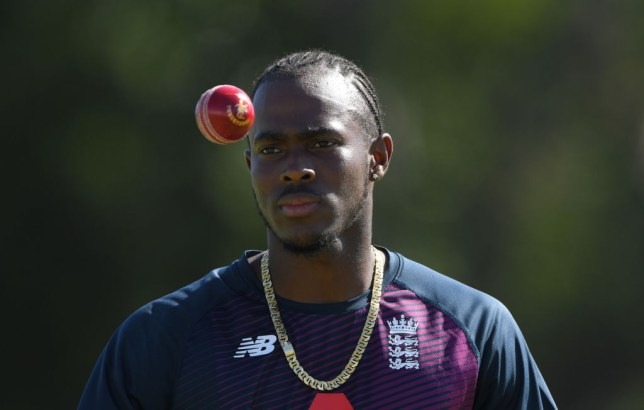 England fast bowler Jofra Archer was targeted online