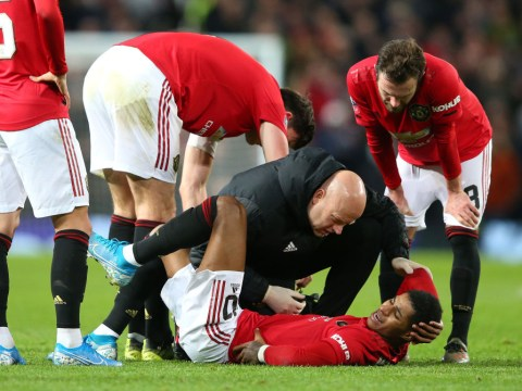 Marcus Rashford gets injured because his Manchester United team-mates are not good enough, reckons Paul Ince