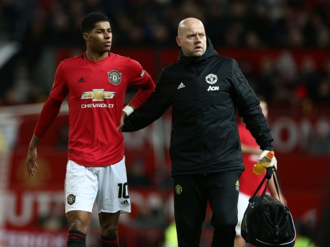 Marcus Rashford sends emotional message to Manchester United fans after injury against Wolves