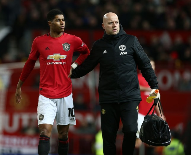 Marcus Rashford is 'unlikely' to face Liverpool