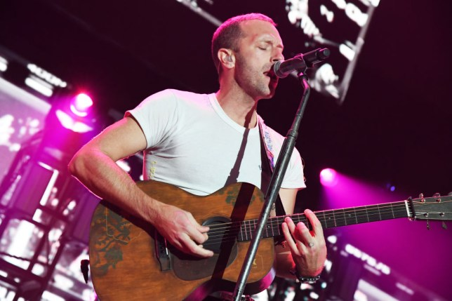 Chris Martin forgets lyrics to Coldplay track Amsterdam during LA gig and jokes: 'Please don't put this on YouTube'