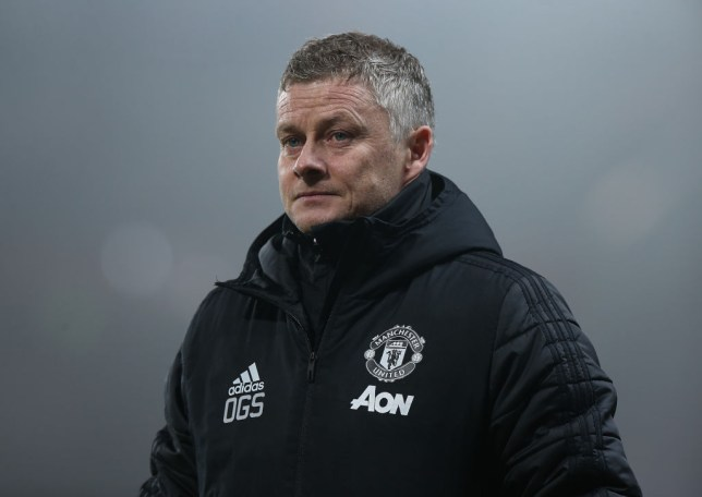 Ole Gunnar Solskjaer looks on frustrated during Manchester United's 2-0 defeat to Burnley
