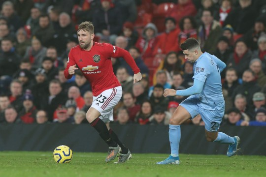 Manchester United would be willing to listen to offers for Luke Shaw in the summer
