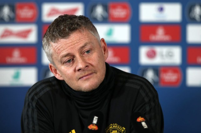 Manchester United manager Ole Gunnar Solskjaer