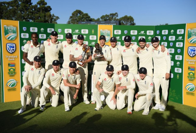 England sealed an emphatic 3-1 series win over South Africa