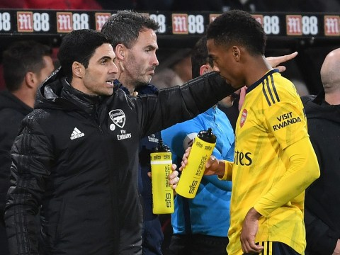 Joe Willock reveals what Mikel Arteta told him before Arsenal's win over Bournemouth