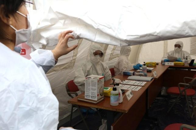 South Korea Repatriates Citizens From Wuhan Amid Coronavirus Outbreak.