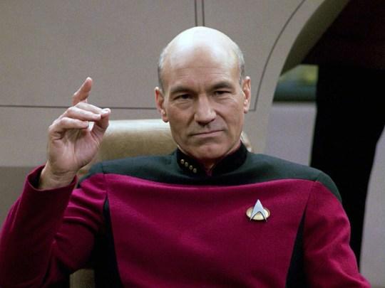 Jean-Luc Picard in Star Trek Next Generation