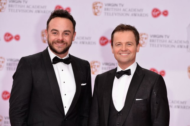 Ant and Dec TV Awards