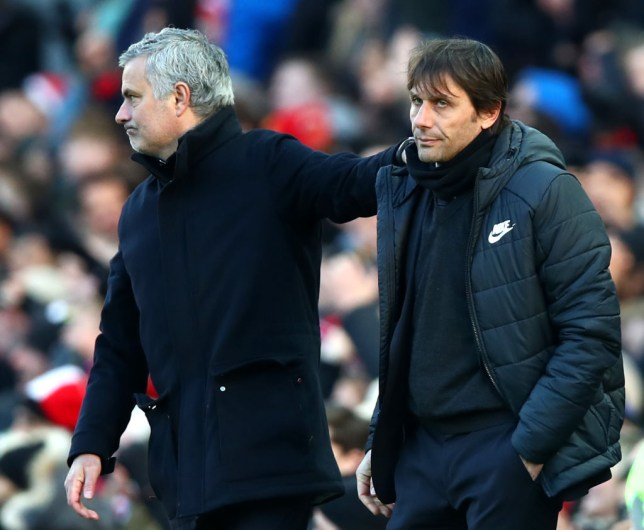 Jose Mourinho fell out with Antonio Conte during the Italian's time in charge of Chelsea