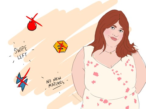 Dating as a plus-size woman means relentless rejection