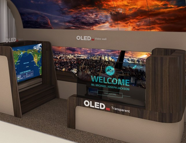 LG Display also builds screens for hotels or other businesses (LG)