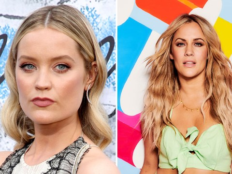 Love Island's new host Laura Whitmore says replacing Caroline Flack 'not ideal'