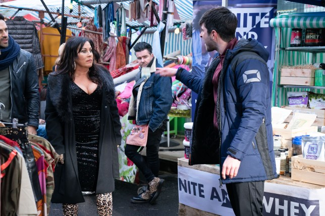 EastEnders spoilers: Evil Leo King exits as Kat Moon forces him out of the market?