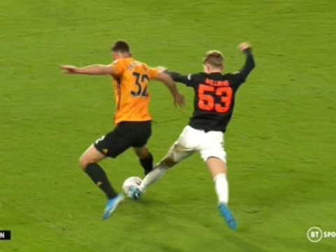 Manchester United denied penalty by VAR during FA Cup clash against Wolves