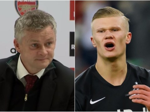 Ole Gunnar Solskjaer reacts to Erling Haaland rejecting Manchester United for Borussia Dortmund