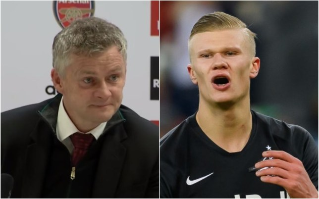 Ole Gunnar Solskjaer has responded to Manchester United missing out on signing Erling Haaland